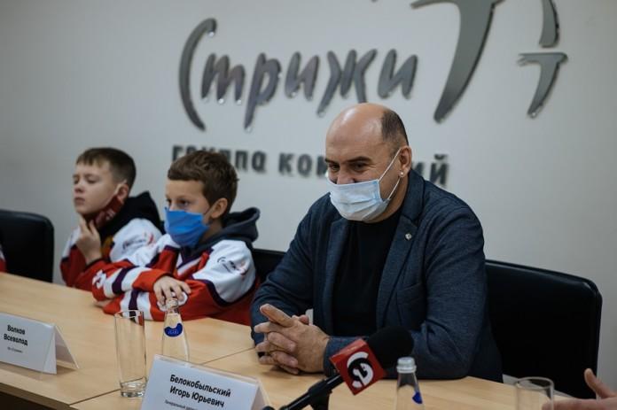 Миниатюра для: Новосибирская хоккейная команда одержала победу в московском турнире