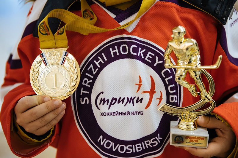 Новосибирская хоккейная команда одержала победу в московском турнире - Изображение