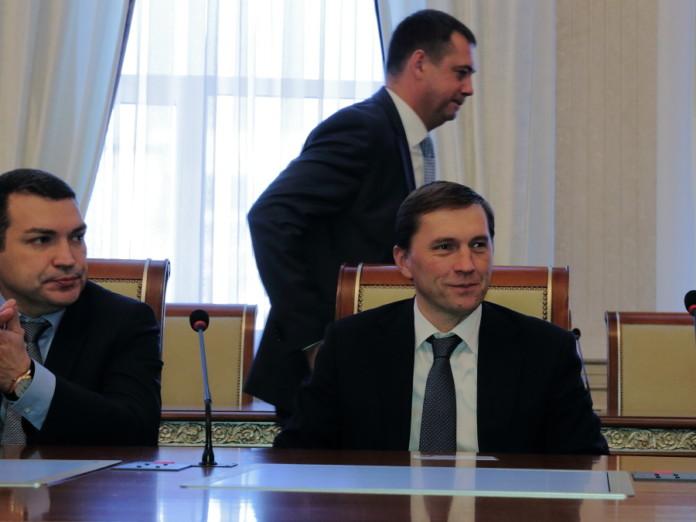 Максим Кудрявцев, Андрей Каличенко и Виктор Игнатов