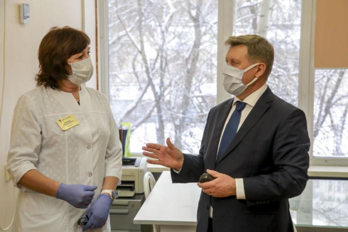 Миниатюра для: Медблоки новосибирских школ готовы к работе во время эпидемии коронавируса – мэр Анатолий Локоть