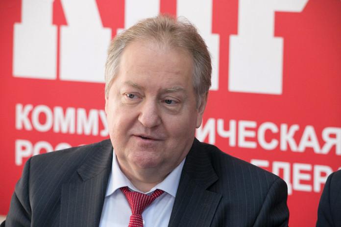 Главный политтехнолог КПРФ Сергей Обухов