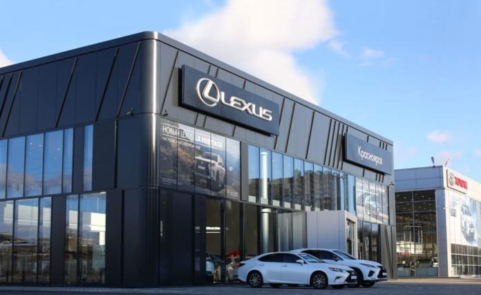 Миниатюра для: В Красноярске открылся новый полнофункциональный дилерский центр Lexus