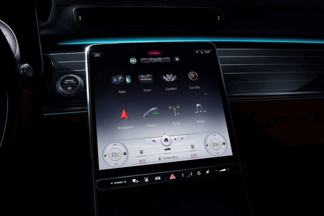 Автомобиль месяца. Новый Mercedes-Benz S-Class - Картинка