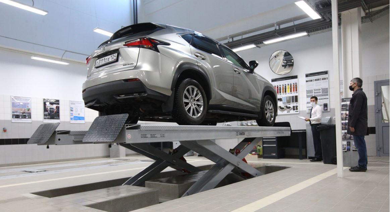 В Красноярске открылся новый полнофункциональный дилерский центр Lexus - Изображение