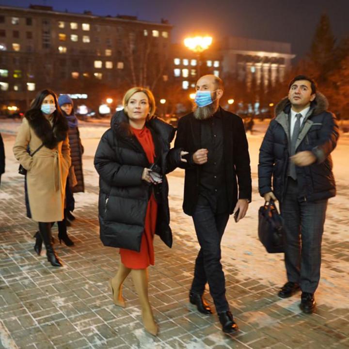 Визит в Новосибирск министра культуры РФ Ольги Любимовой