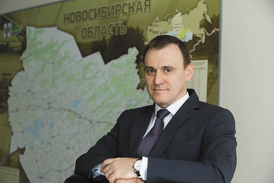 Иван Шмидт, министр строительства Новосибирской области