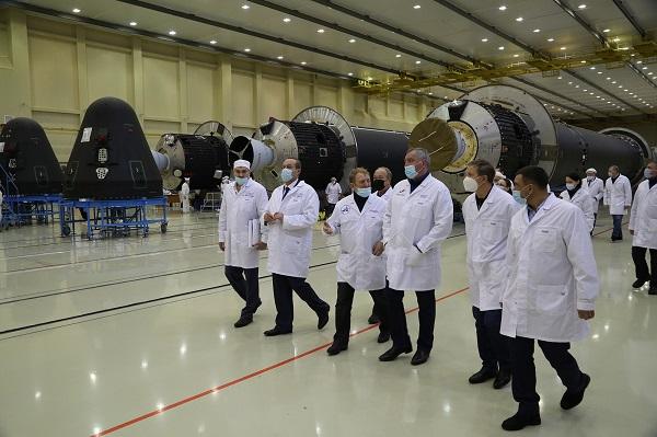 Миниатюра для: Цеха омского «Полета» модернизируют на 6 млрд для выпуска «Ангары»