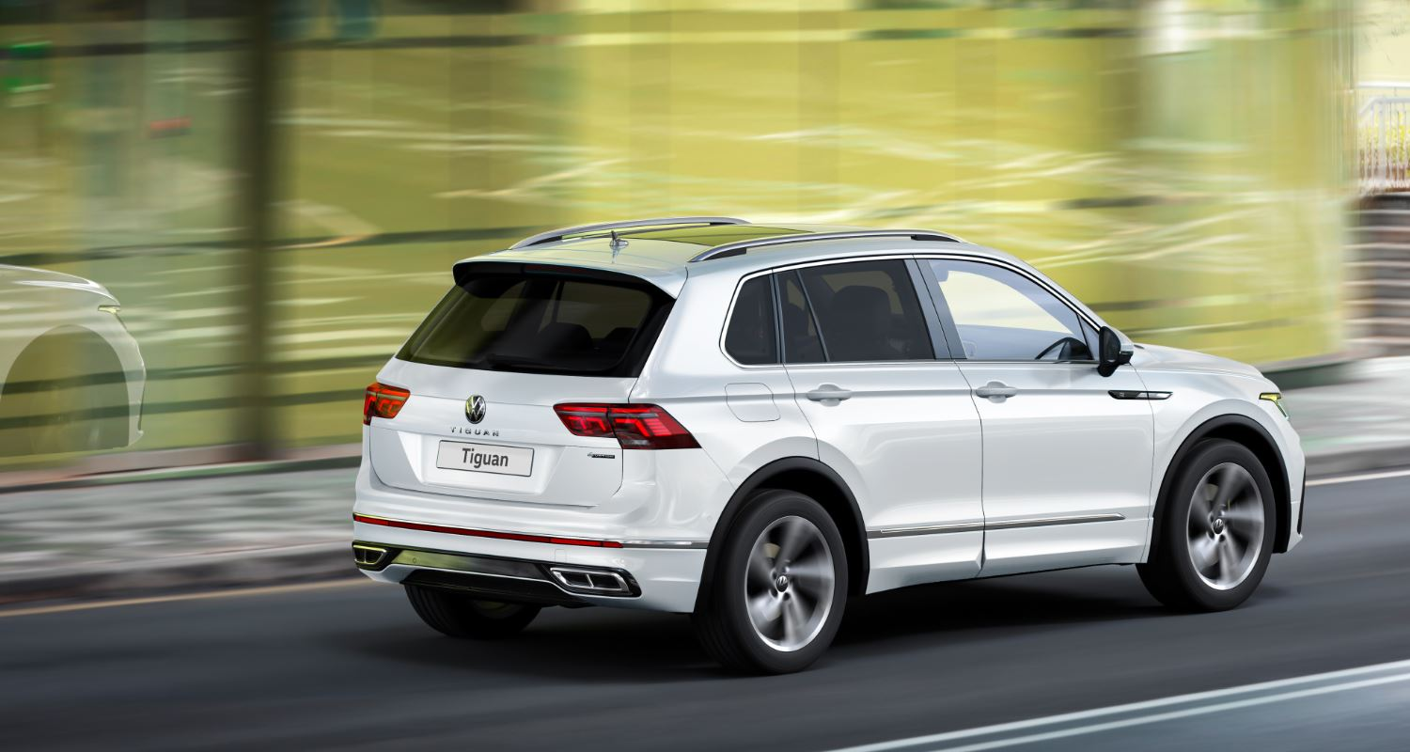 Новый Volkswagen Tiguan в ФАСТАРЕ - Фотография