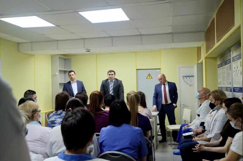 Встреча с врачами роддома №2