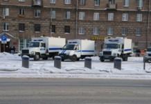 Протесты в Сибири - Фото