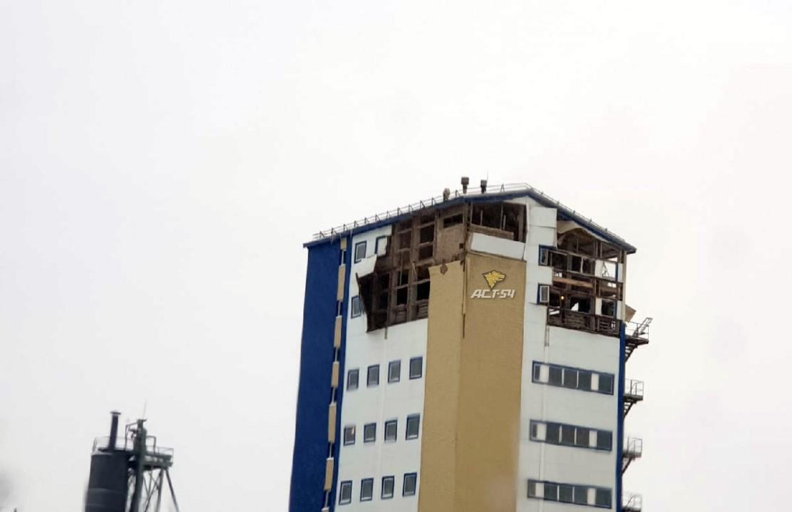 обрушенное здание