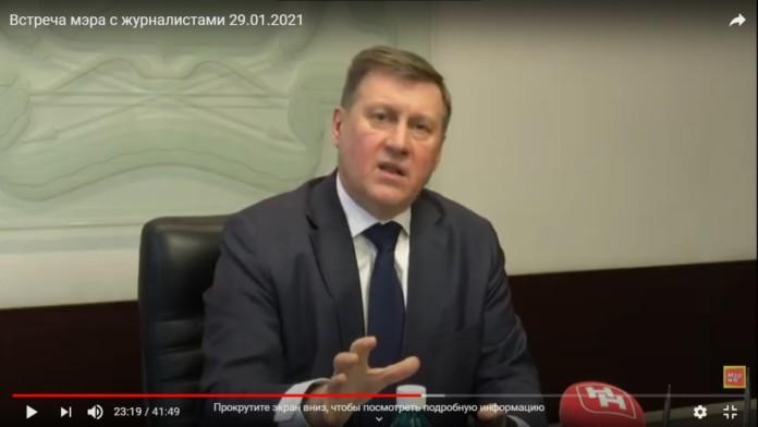 Миниатюра для: Мэр Новосибирска прокомментировал протестные акции в поддержку оппозиционера Навального