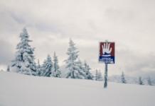 Снег, лавина
