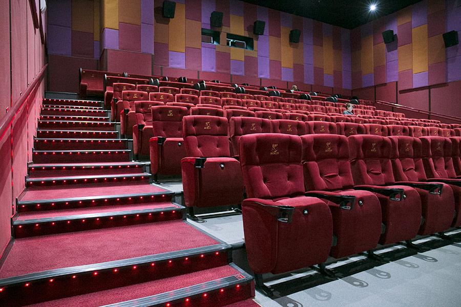 Зрительный зал, театр, кинотеатр