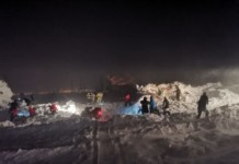 Число жертв снежной лавины, сошедшей под Норильском, выросло до трех человек