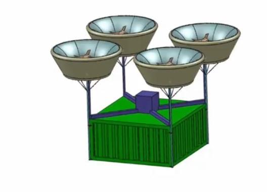 Миниатюра для: Стендовые испытания авиадвигателя новосибирских разработчиков летающей платформы назначены на май