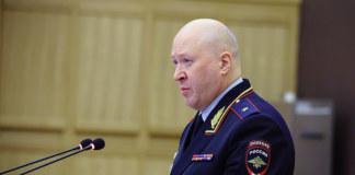 Начальник ГУ МВД России по Новосибирской области Андрей Кульков