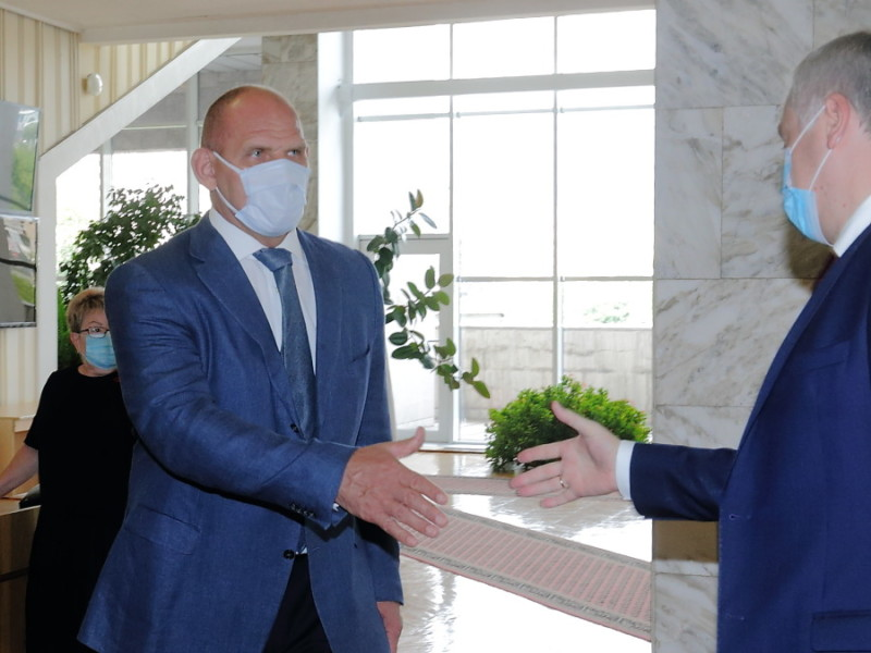 Александр Карелин и Андрей Травников