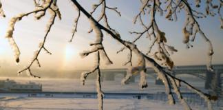 Морозы, зима