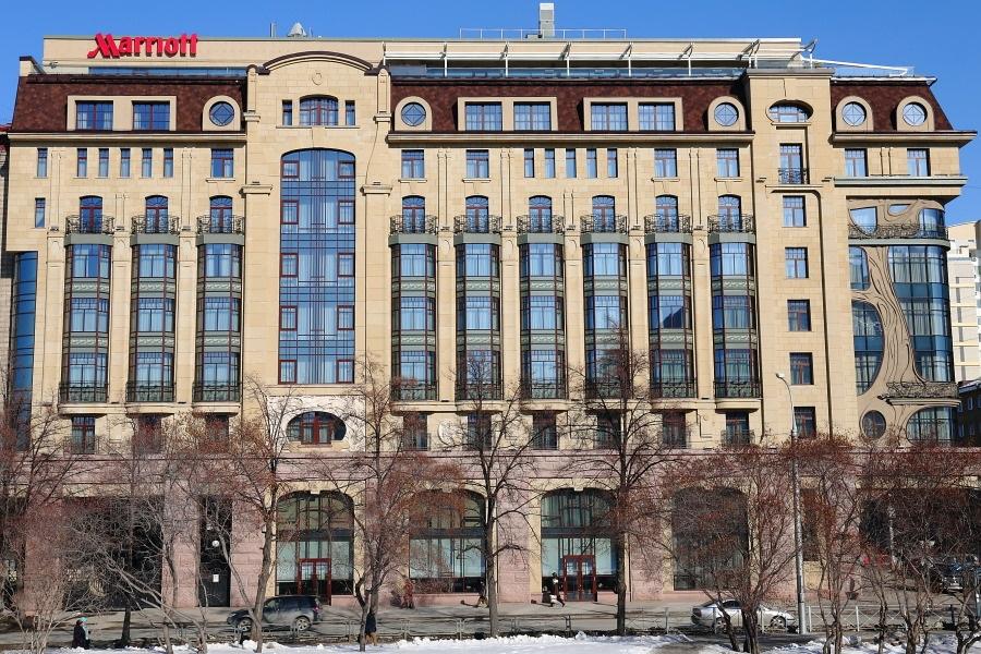 Новосибирский отель Marriott после кризиса 2020