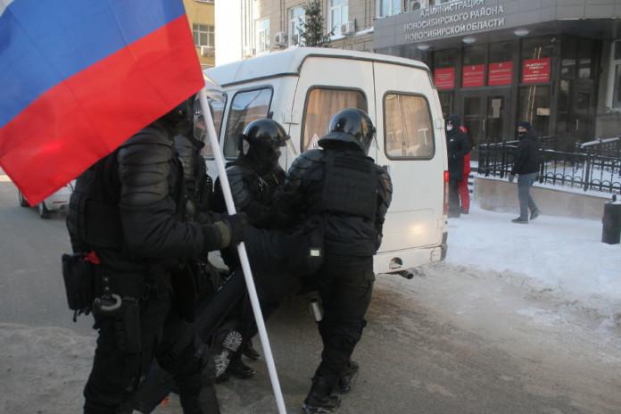 задержание на митинге