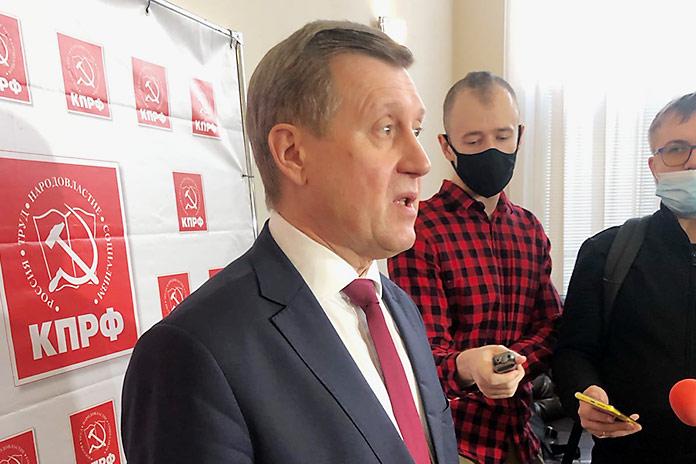 Анатолий Локоть о кандидатах на выборах в Госдуму