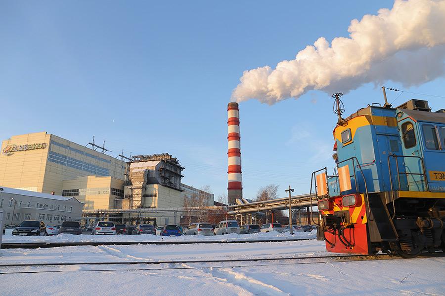 Трубы, предприятия, загрязнение