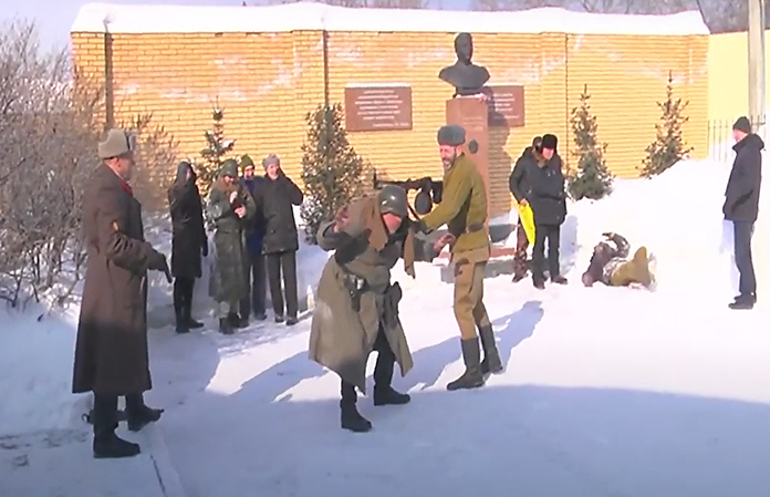 Новосибирские коммунисты отметили 23 февраля