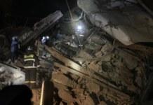 Обрушение здания в Норильске