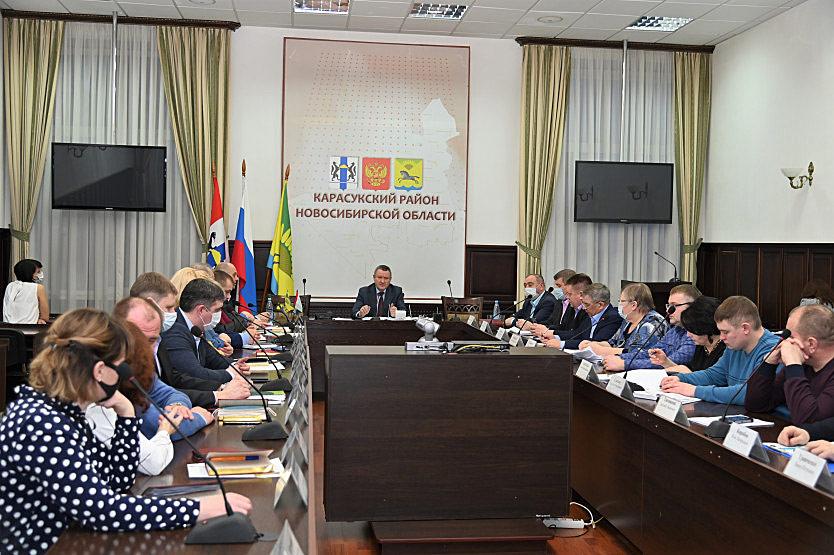 Депутаты выбрали главу Карасукского района - администрация Карасукского района