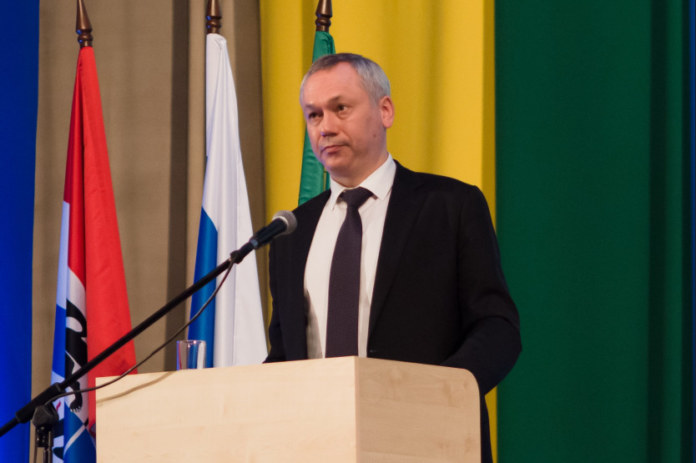 Миниатюра для: Андрей Травников: «Многие проекты из Новосибирска переходят на территорию Новосибирского района»