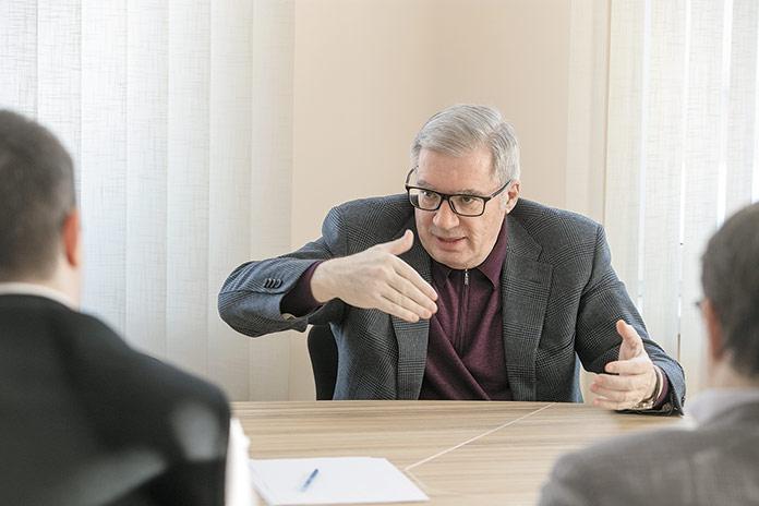 Виктор Толоконский - интервью