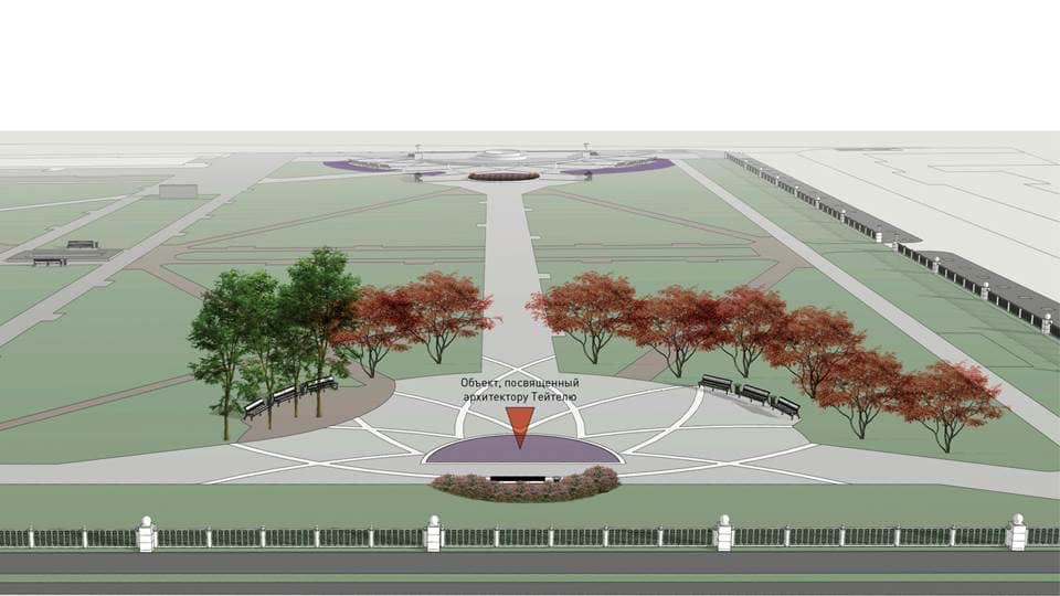 Власти Новосибирска одобрили проект реконструкции Первомайского сквера - Изображение