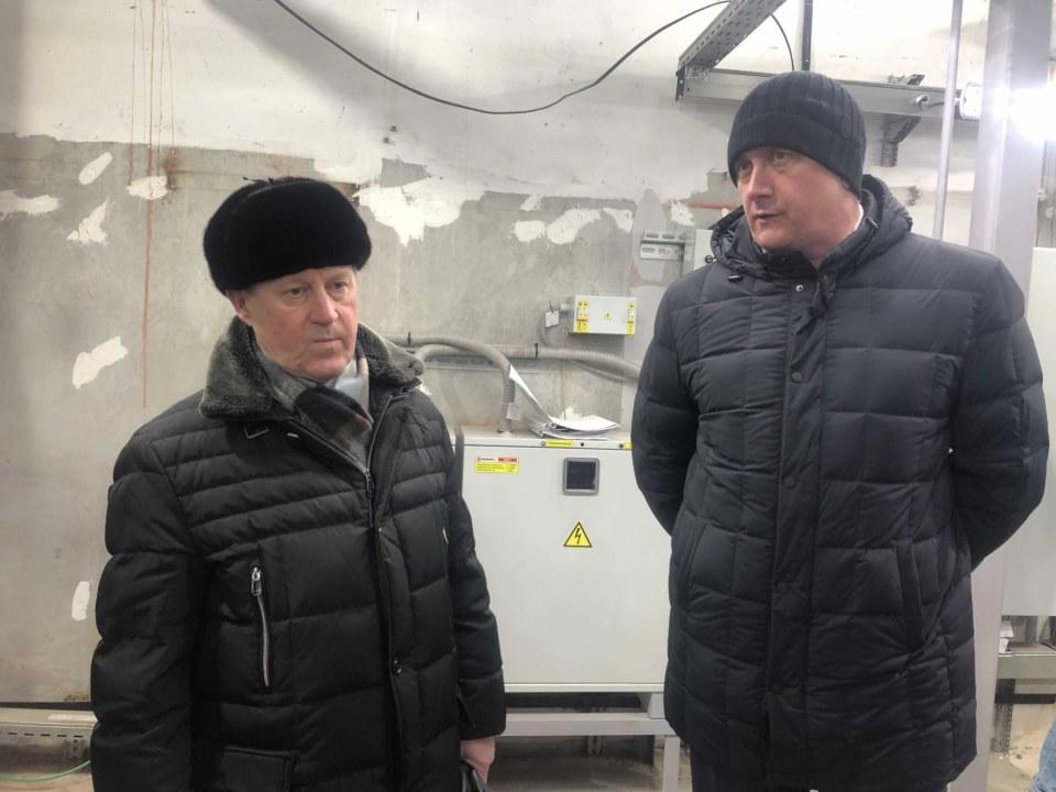 Анатолий Локоть и Андрей Колмаков