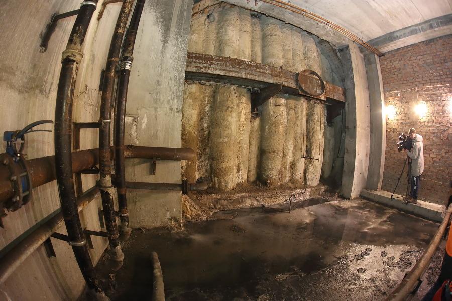 """Тоннель метро """"Берёзовая роща"""""""