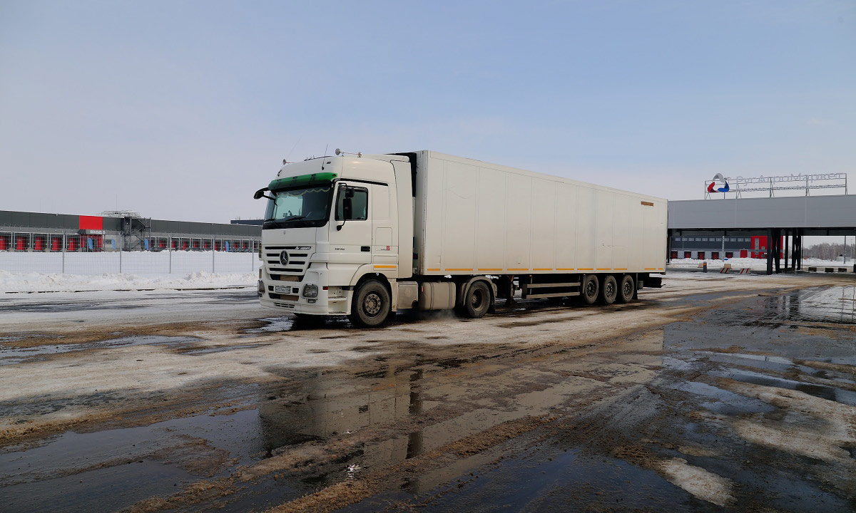 РосАгроМаркет стоянка грузовиков