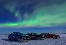 Тест-драйв BMW в арктическом холоде