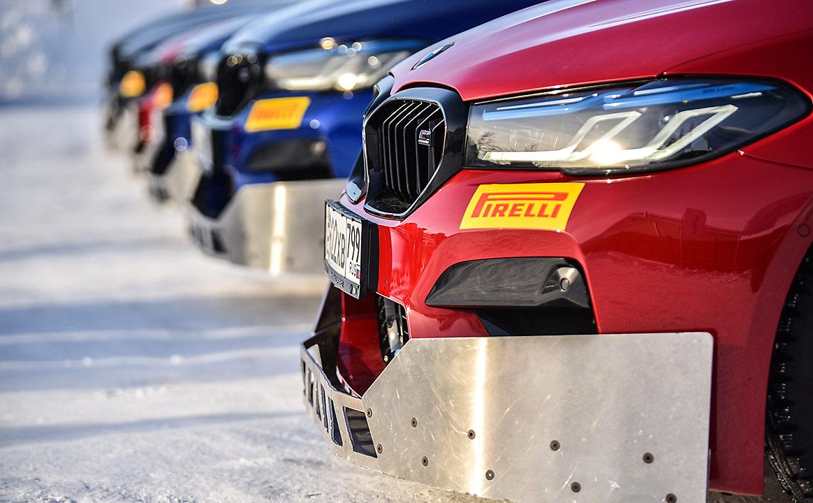 Тест-драйв BMW специальная защита бампера