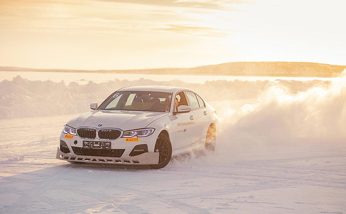 Тест-драйв BMW зимой