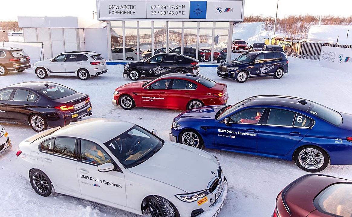 Тест-драйв BMW участники собрались