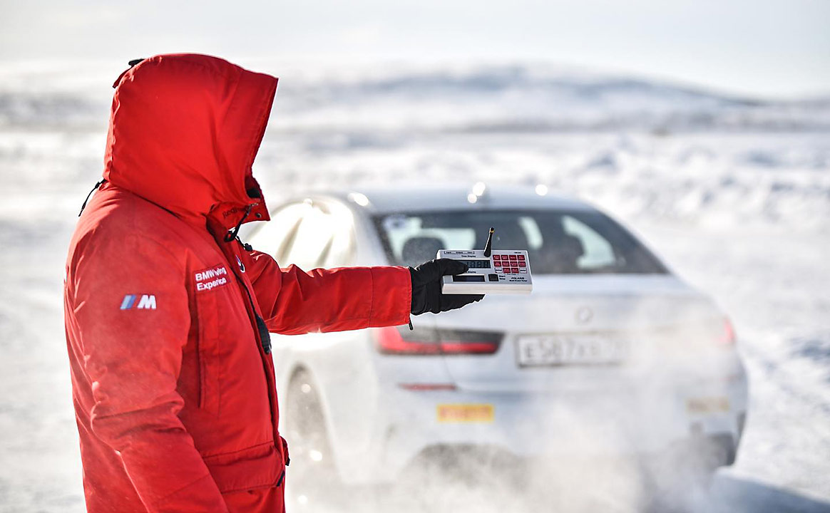 Тест-драйв BMW - старт
