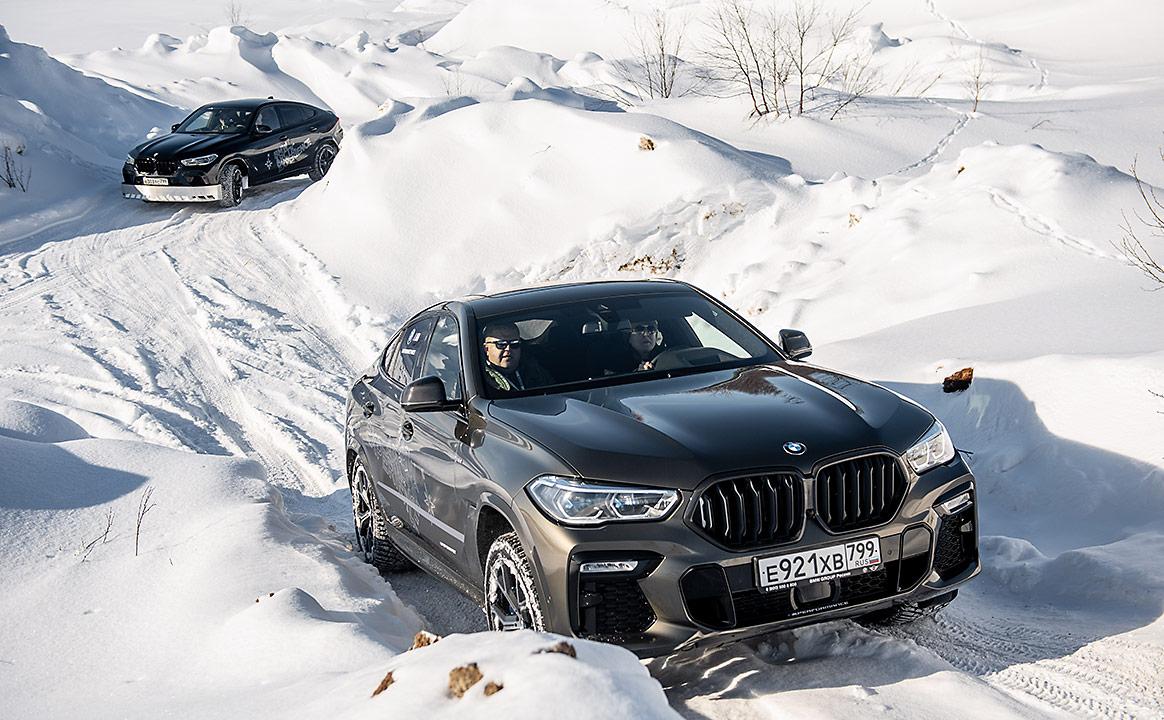 Тест-драйв BMW - снег