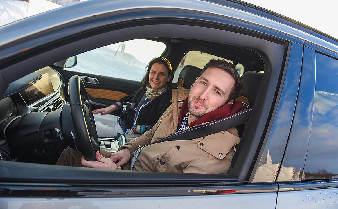 Участники Тест-драйва BMW