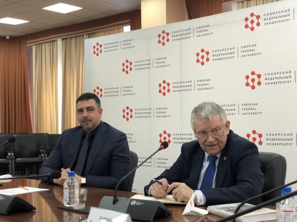 СО РАН и СФУ будут сотрудничать в областях биотехнологий и искусственного интеллекта - Фотография