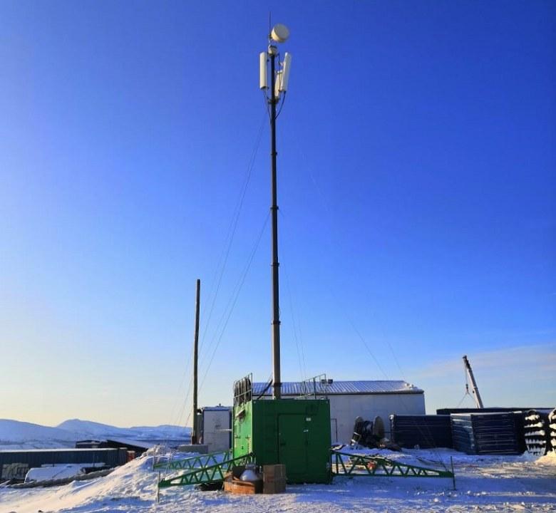 «МегаФон» анонсировал запуск сети Private LTE на Удоканском месторождении меди - Фотография