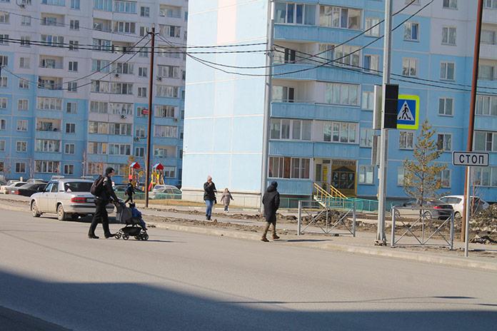 Пешеходный переход с неработающим светофором Чистая слобода
