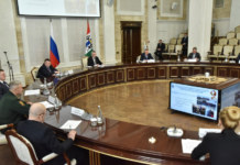 заседание Новосибирского областного оргкомитета «Победа»