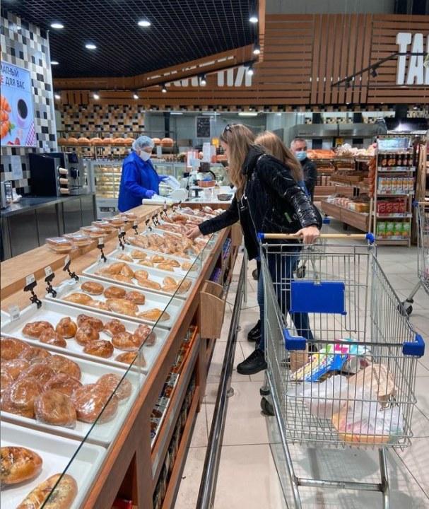 Миниатюра для: Новосибирские магазины «Гигант» сменят вывеску на «Первоцен»