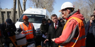 Мэр, очистка ливневой канализации