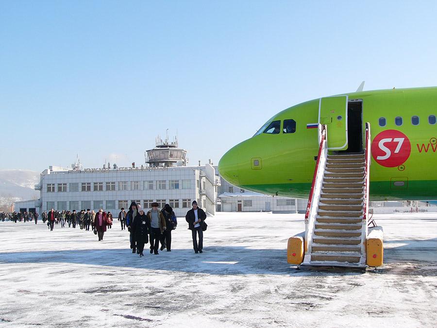 7-я подзона аэропорта Толмачева